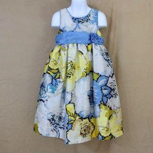 Cherokee girls floral dress size 5T